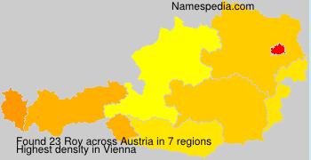 Surname Roy in Austria