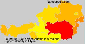 Surname Ruck in Austria
