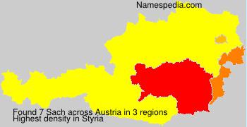 Surname Sach in Austria