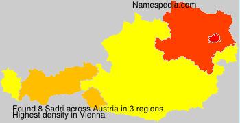 Surname Sadri in Austria