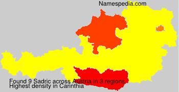 Surname Sadric in Austria