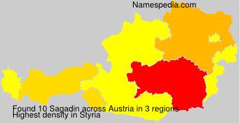 Familiennamen Sagadin - Austria