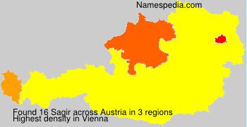 Surname Sagir in Austria