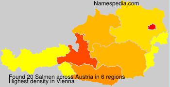 Surname Salmen in Austria