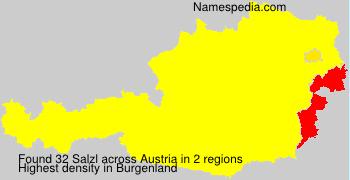 Surname Salzl in Austria