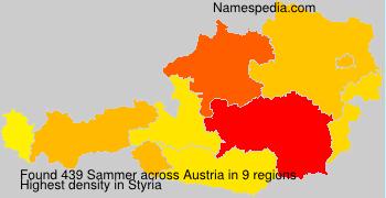 Surname Sammer in Austria
