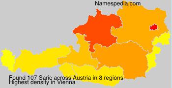 Surname Saric in Austria