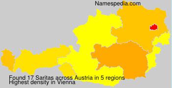 Surname Saritas in Austria