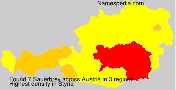 Surname Sauerbrey in Austria