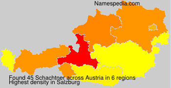 Surname Schachtner in Austria