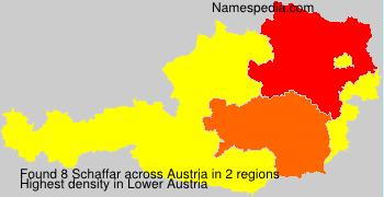 Familiennamen Schaffar - Austria