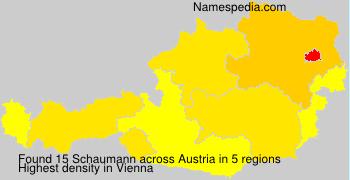 Surname Schaumann in Austria