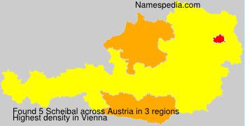 Surname Scheibal in Austria