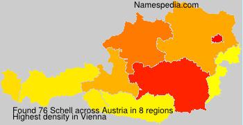 Surname Schell in Austria