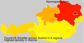 Surname Scheller in Austria