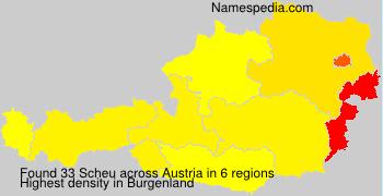 Surname Scheu in Austria