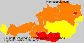 Surname Schiemann in Austria