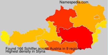 Surname Schiffer in Austria