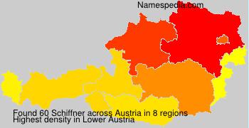 Surname Schiffner in Austria