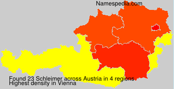 Surname Schleimer in Austria