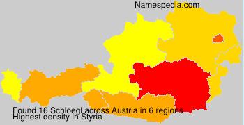 Surname Schloegl in Austria