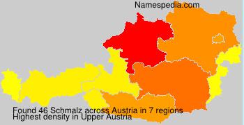 Surname Schmalz in Austria