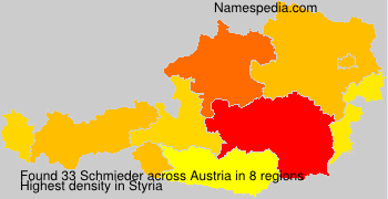 Surname Schmieder in Austria
