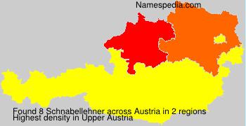 Familiennamen Schnabellehner - Austria
