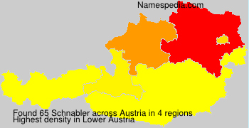 Familiennamen Schnabler - Austria