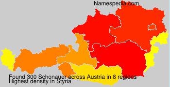 Surname Schonauer in Austria