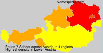 Surname Schoof in Austria