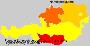 Surname Schorsch in Austria