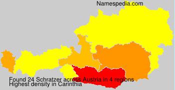 Familiennamen Schratzer - Austria