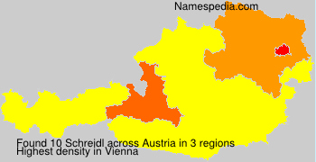 Familiennamen Schreidl - Austria