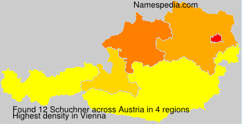 Familiennamen Schuchner - Austria