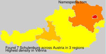 Surname Schulenburg in Austria