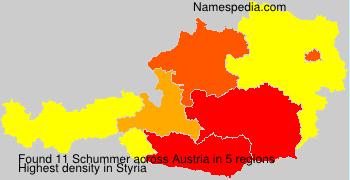 Familiennamen Schummer - Austria