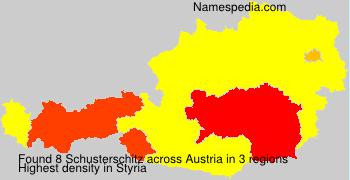 Surname Schusterschitz in Austria