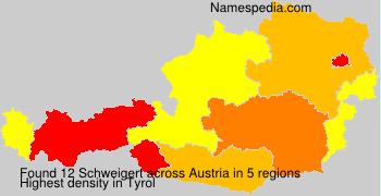 Surname Schweigert in Austria