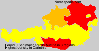 Surname Sedlmaier in Austria