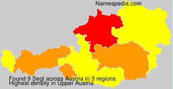 Surname Segl in Austria