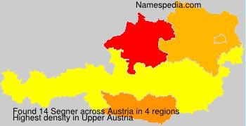 Surname Segner in Austria