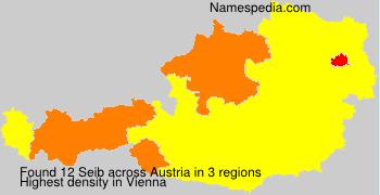 Familiennamen Seib - Austria