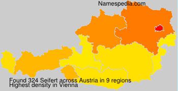 Surname Seifert in Austria