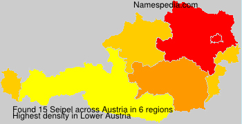 Surname Seipel in Austria