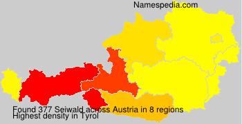 Surname Seiwald in Austria