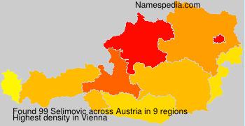 Surname Selimovic in Austria