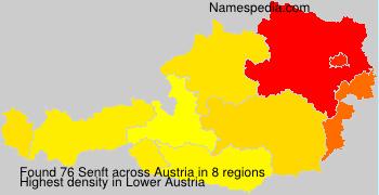 Surname Senft in Austria