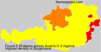 Surname Shabana in Austria