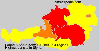 Surname Shatri in Austria